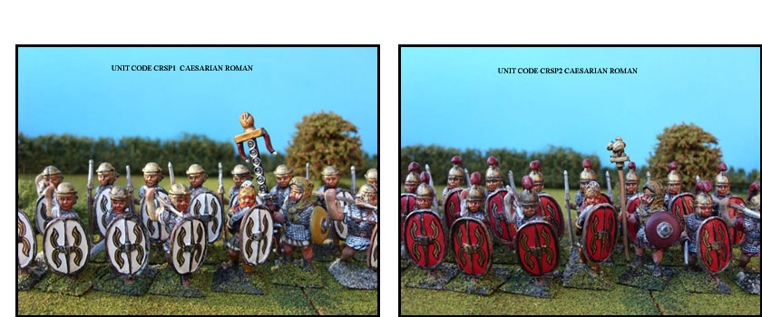 CAESARIAN ROMAN PAINTED UNITS