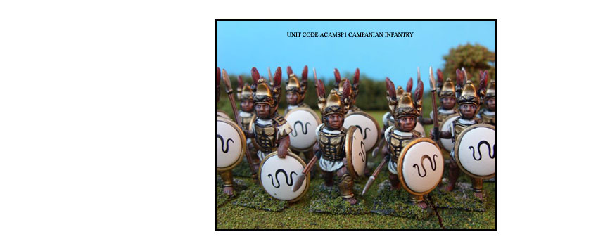 CAMPANIANS PAINTED UNITS