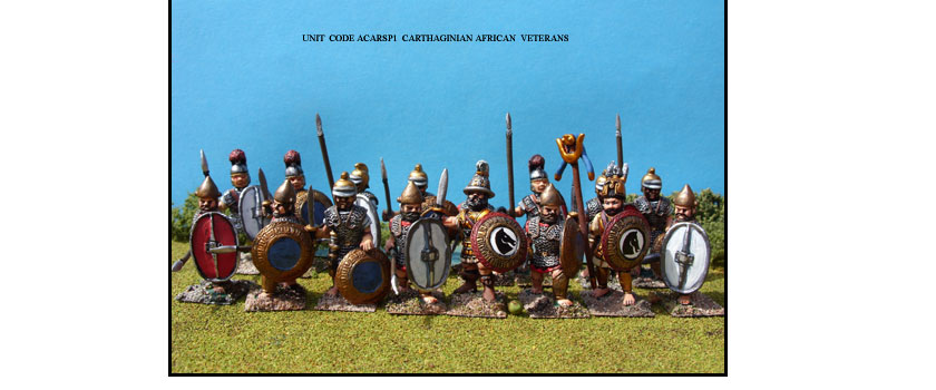 CARTHAGINIAN PAINTED UNITS