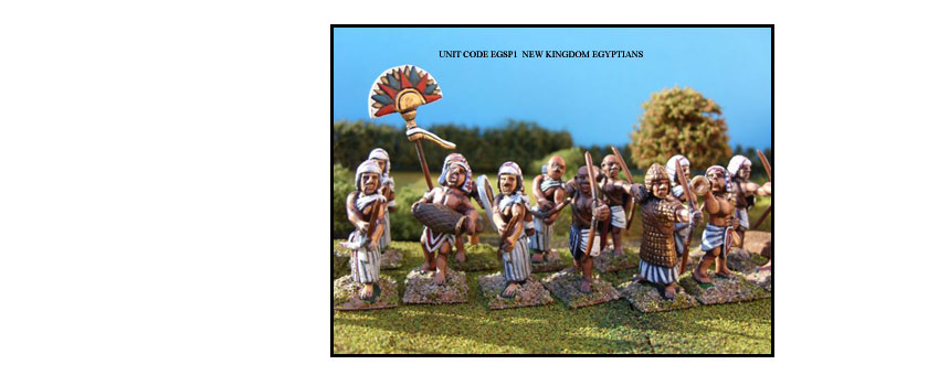 EGYPTIAN PAINTED UNITS