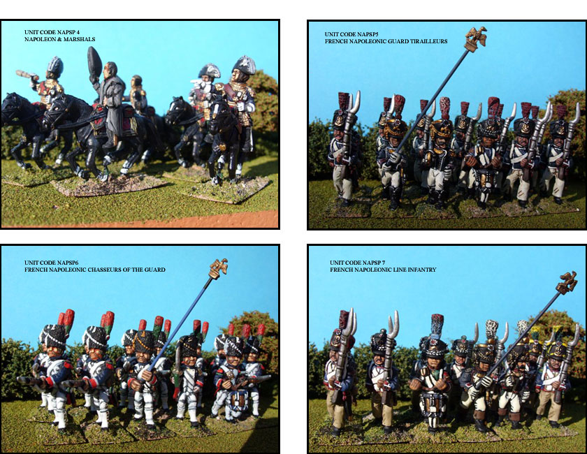 FRENCH PAINTED UNITS