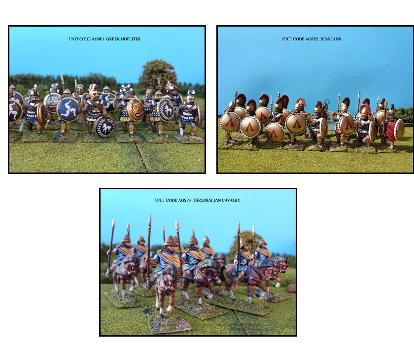 GREEK PAINTED UNITS