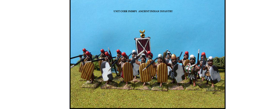 ANCIENT INDIAN PAINTED UNITS