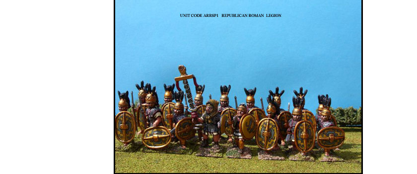 REPUBLICAN ROMAN PAINTED UNITS