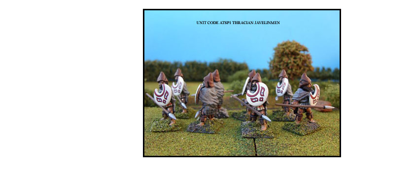 THRACIAN PAINTED UNITS