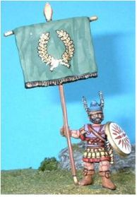 AM3 Type A Macedonian Standard Bearer, (Figure supplied with standard as illustrated)